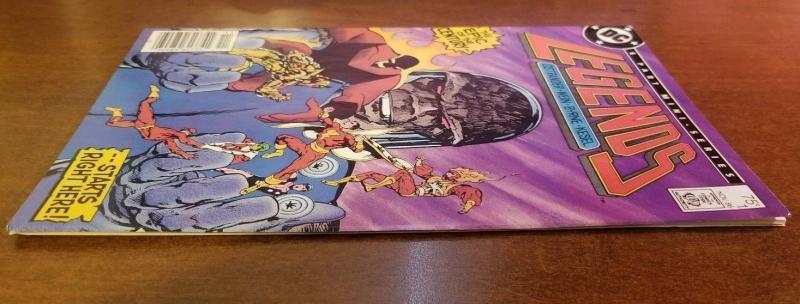 Legends 1 1986 DC VF/NM Darkseid