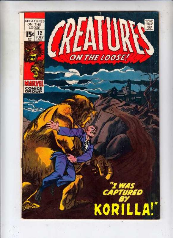 Creatures on the Loose #12 (Jul-71) NM- High-Grade Frankenstein