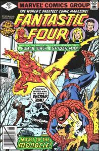 Marvel FANTASTIC FOUR (1961 Series) #207 VG