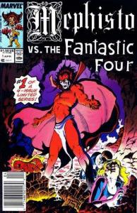 Mephisto vs. #1, VF+ (Stock photo)