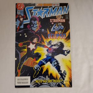 Starman 43 Very Fine+ Cover by Mike Mignola