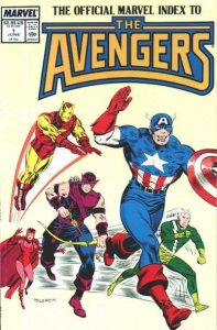 Official Marvel Index to the Avengers (1987 series) #1, NM- (Stock photo)