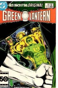 Green Lantern #199 (1960 v2) Guy Gardner John Stewart VF
