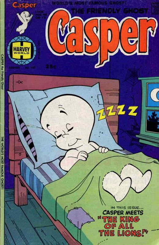 Friendly Ghost, Casper, The #187 VG; Harvey | low grade comic - save on shipping