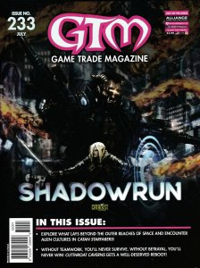Game Trade Magazine #233 Shadow Run | Sledge Orc Samurai Dossier | New/Sealed!