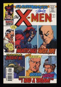 Flashback: The X-Men -1 Signed by Stan Lee with Wizard Seal!