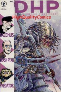 DARK HORSE PRESENTS #46,Predator, Bacchus, Dorman, NM
