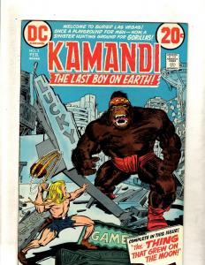 Kamandi # 3 VF/NM DC Comic Book Jack Kirby Fourth World Bronze Age FM2