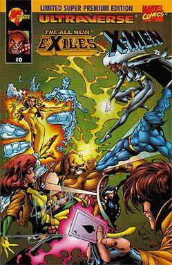 All New Exiles vs. X-Men, The #0 GOLD VF/NM; Malibu | save on shipping - details