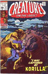 Creatures on the Loose #12 (Jul-71) FN/VF+ Mid-High-Grade Frankenstein