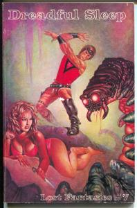 Lost Fantasies #7 1977-Weinberg-reprints Dreadful Sleep by Jack Williamson-VG/FN