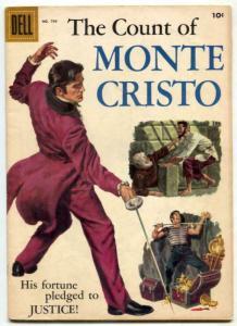 Four Color Comics #794 1957- Count of Monte Cristo