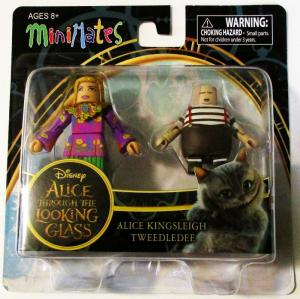 Alice in Wonderland TTLG Alice & Tweedledee Minimates 2-Pack - New!