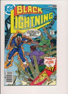 DC Comics BLACK LIGHTNING #11 ~ 1st series (1978) ~ VF (PF189) Final Issue