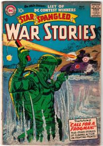 Star Spangled War Stories #57 (May-57) VG/FN Mid-Grade One-Man Navy
