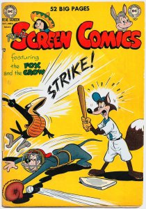 REAL SCREEN COMICS #32 (1950) 6.0 FN  Fox & Crow, Flippity & Flop,Tito & Burrito