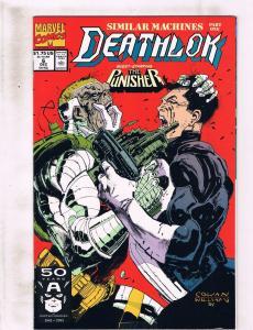 Lot of 7 Deathlok Marvel Comic Book #6 7 8 9 10 11 12 KS2