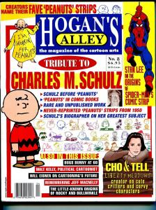 Hogan's Alley #9 2000-Charles M Schulz-Bugs Bunny-Stan Lee-Spider-man-VF