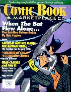 The Comic Book Marketplace #17 1992- Batman- Chamber of Chills