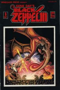 Black Zeppelin (Gene Day's…) #5 VF/NM; Renegade | save on shipping - details ins
