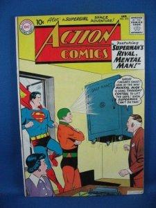 Action Comics #272 (Jan 1961, DC) VF SUPERGIRL MENTAL MAN
