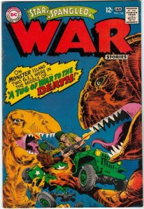 Star Spangled War Stories #136 (Jan-67) NM- High-Grade Dinosaur