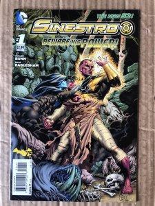 Sinestro #1 (2014)