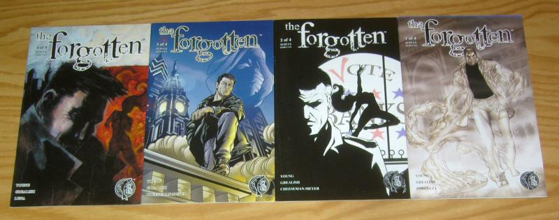 the Forgotten #1-4 VF/NM complete series ASTRO CITY meets PHILADELPHIA PA set