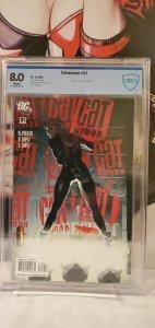 Catwoman #81 CBCS 8.0 DC Comics Adam Hughes Cover