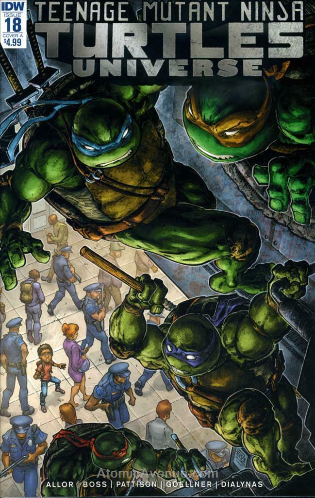 Teenage Mutant Ninja Turtles Adventures Reprints #2 VF 1989 Stock Image