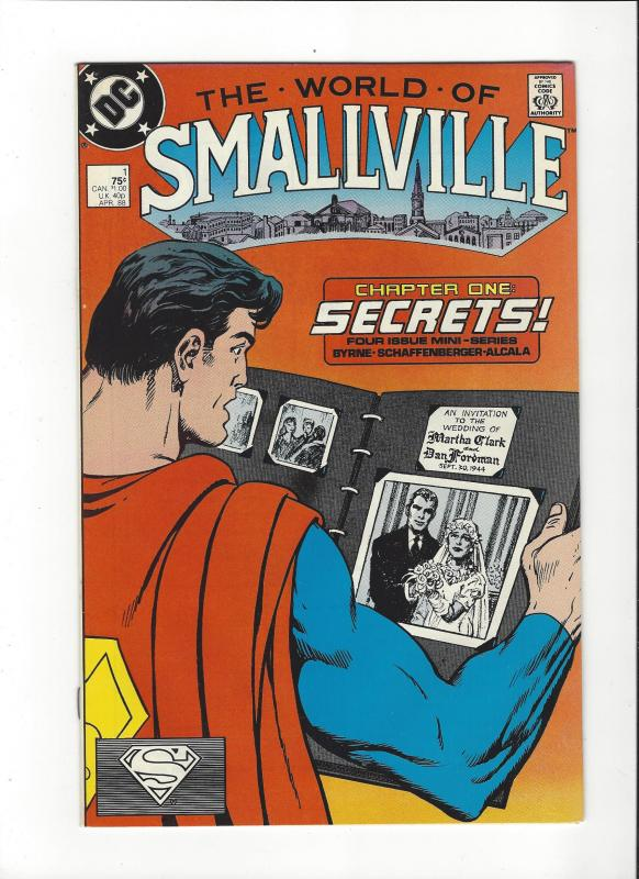 World Of Smallville #1 DC Comics Byrne Art NM