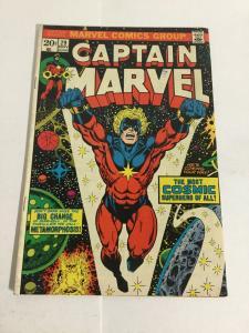Captain Marvel 29 Vg/Fn Very Good/Fine 5.0 Marvel