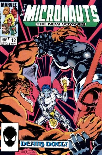 Micronauts (1984 series) #12, NM (Stock photo)