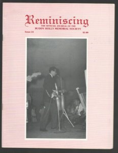 Reminiscing #24 1982-Journal of The Buddy Holly Memorial Society-info-pics-So...