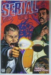 SERIAL/THE HETAIRIA split comic, LITTLE EVA INK, 2011. Signed by Michael Golden