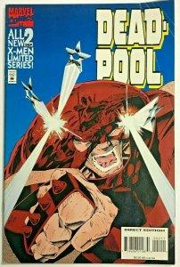 DEADPOOL#2 FN 1994 MINI SERIES MARVEL COMICS