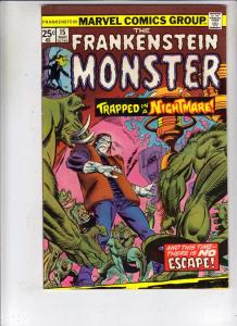 Frankenstein, the Monster of #14 (Jan-75) FN/VF- Mid-High-Grade Frankenstein