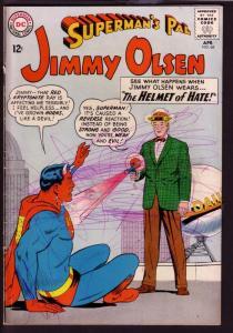 SUPERMAN'S PAL JIMMY OLSEN #68 1963-RED KRYPTONITE COVR FR