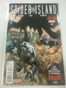 SPIDER-ISLAND #3 (2015) MARVEL COMICS SECRET WARS NM NW55
