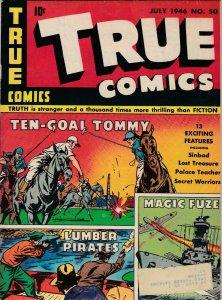 True Comics 50 VG+   (July 1946)