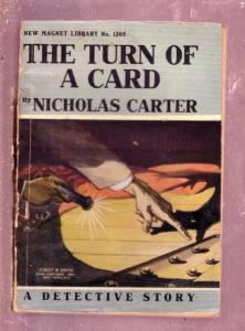NEW MAGNET LIBRARY-#1305-TURN OF A CARD-NICK CARTER FR