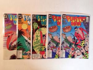 Plastic Man 1-4 Complete Near Mint Lot Set Run