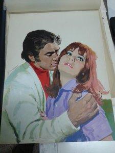 Original en color de Manfred Sommer (dibujante de Frank Cappa) modelo numerado 1