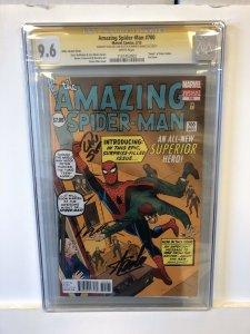 Amazing Spider-Man #700 CGC 9.6 ditko variant cover LAST ISSUE marvel comics