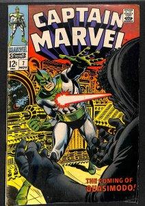 Captain Marvel #7 (1968)