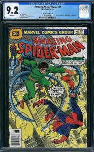 Amazing Spider-man #157 (Marvel, 1976) CGC 9.2 KEY