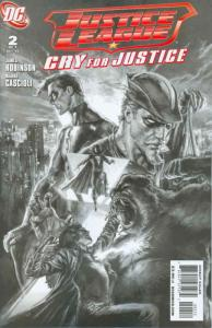Justice League: Cry for Justice #2 (2nd) VF/NM; DC | save on shipping - details