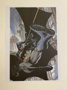 Batman #608 HUSH comics poster by Jim Lee