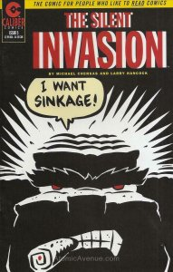 Silent Invasion (Vol. 2) #5 VG; Caliber | low grade comic - save on shipping - d