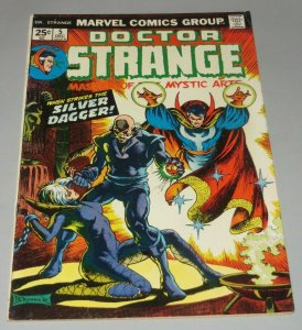 Doctor Strange #5 VG/FN 1974 Marvel Comic Book Silver Dagger App. Frank Brunner